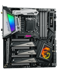 Top Motherboards for Core i7-9700K MSI MEG Z390 GODLIKE