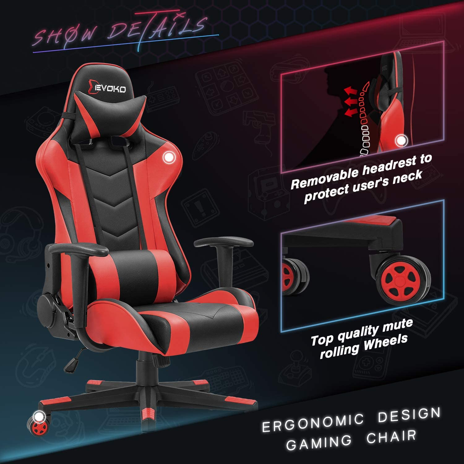 Top Budget Gaming Chair - Reviews,Top Budget Gaming Chair, DigitalUpBeat - Your one step shop for all your  tech gifts and gadgets